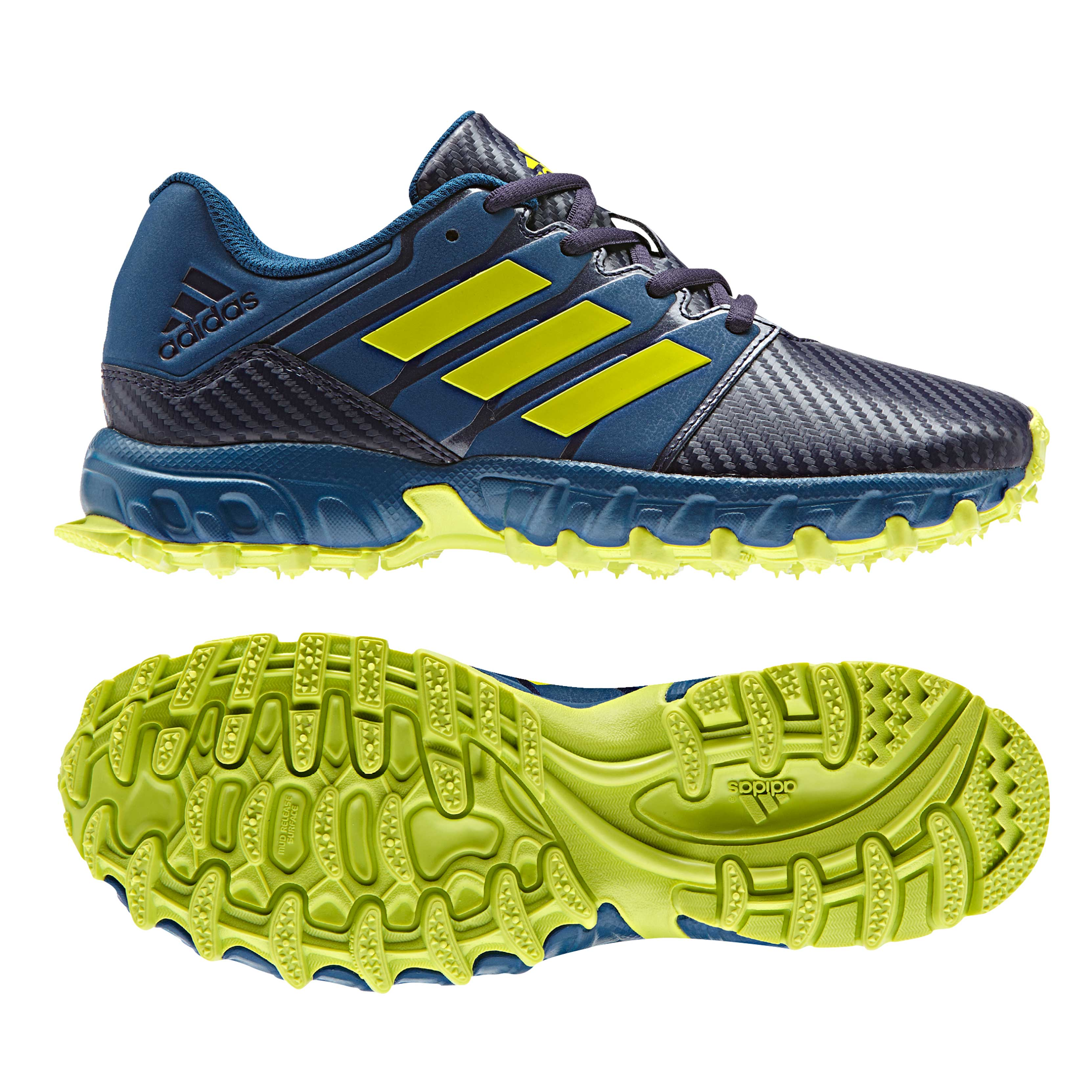 Shopping > blue and yellow adidas hockey shoes |