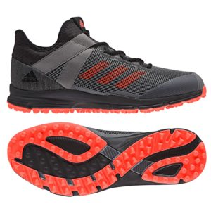 Adidas Hockey Zone Dox Black Hockey Shoe