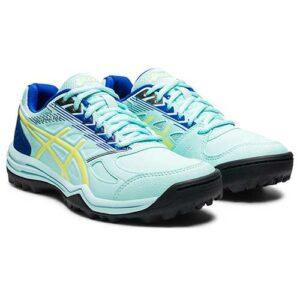 ASICS Gel-Lethal Field Hockey Shoe Clear Blue/Glow Yellow
